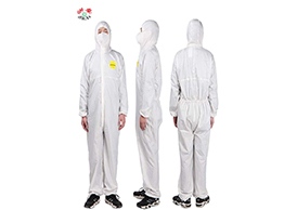 浙安A款:防护服100%聚酯纤维抗菌面料
